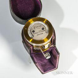 Goldschid-form Pocket Barometer