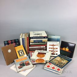 Group of Reference Books on American Decorative Arts