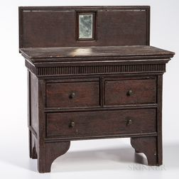 Miniature Walnut Bureau