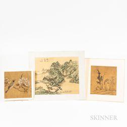 Three Album Painting Leaves