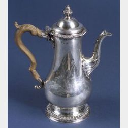 George II Silver Coffeepot