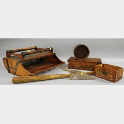 Group of Miscellaneous Wooden Items