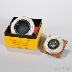 No. 5 Universal Synchro Shutter and Bausch & Lomb Large Format Lens