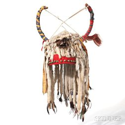 Blackfeet Ermine Skin Headdress