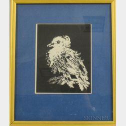 Pablo Picasso (Spanish, 1881-1973)      La petite colombe