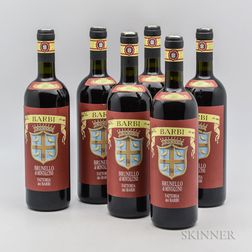 Barbi Brunello di Montalcino Riserva 2007, 6 bottles (oc)