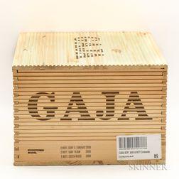 Gaja Collection 2009, 6 bottles (owc)