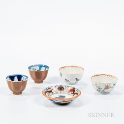 Five Porcelain Items