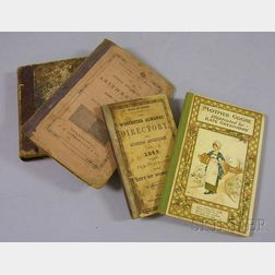 Four 19th Century Children's and Reference Books