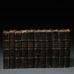 Paxton's Magazine of Botany  , Eleven Volumes: