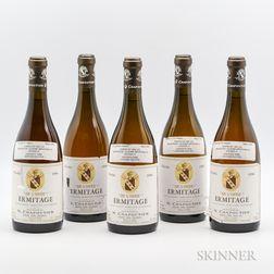 Chapoutier Ermitage Blanc De LOree 1996, 5 bottles