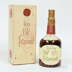Very Very Old Fitzgerald 12 Years Old 1956, 1 4/5 quart bottle (oc)