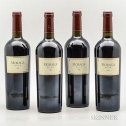 Moraga Bel Air 1989, 4 bottles