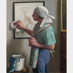 Margaret Fitzhugh Browne (American, 1884-1972)      Spring Cleaning