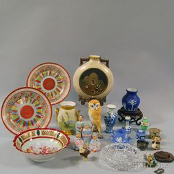 Assorted Group of Mostly Ceramic Decorative Items