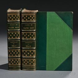 Lockhart, J.G., Memoirs of the Life of Sir Walter Scott, Bart.  , Extra-illustrated.