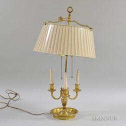 Brass Five-light Boudoir Lamp
