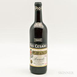Pio Cesare Barolo 1961, 1 bottle