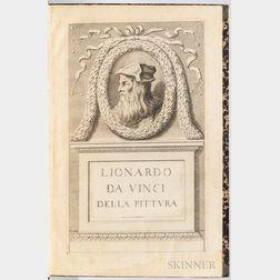 Da Vinci, Leonardo (1452-1519) Trattato della Pittura di Lionardo da Vinci.