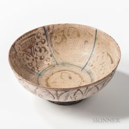Lustre-glazed Kashan Bowl