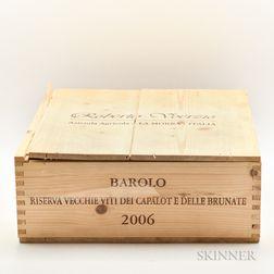 Voerzio Barolo Riserva Vecchie Viti dei Capalot e delle Brunate 2006, 3 magnums (owc)
