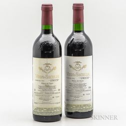 Vega Sicilia Unico 1970, 2 bottles