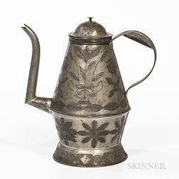 Pennsylvania Punched Tin Coffeepot