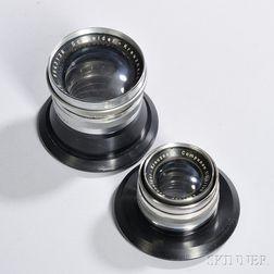 Two Schneider Large Format Enlarging Lenses