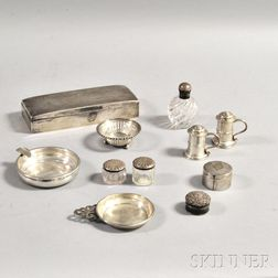Eleven Sterling Silver Items