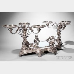 Fine Tiffany & Co. Sterling Silver Centerpiece