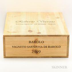 Voerzio Barolo Sarmassa 2009, 3 magnums (owc)