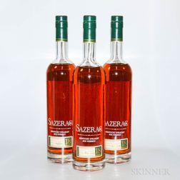 Buffalo Trace Antique Collection Sazerac 18 Years Old, 3 750ml bottles
