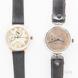 Two Vintage Pilot's Wristwatches