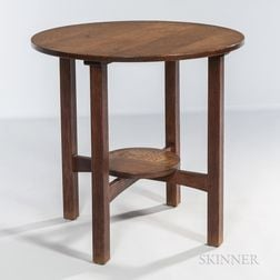 L. & J.G. Stickley Model 573 Table