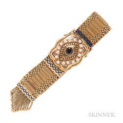 Victorian Revival 18kt Gold Covered Wristwatch, L.U. Chopard