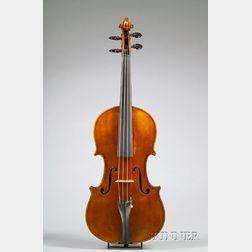 Modern Italian Violin, Romeo Antoniazzi, Milan, 1925