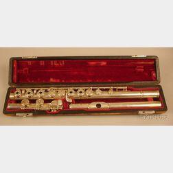 American Silver Flute, William S. Haynes Company, Boston, 1935