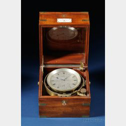Eight-Day Marine Chronometer by A. Johannsen & Co.