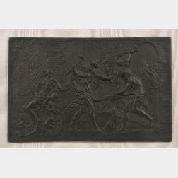 Wedgwood Black Basalt Plaque