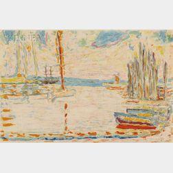 After Pierre Bonnard (French, 1867-1947), Jacques Villon (French, 1875-1963)      Port de pêche