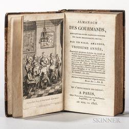Almanach des Gourmands, Troisieme Annee.