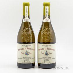 Chateau de Beaucastel Chateauneuf du Pape Blanc Vieilles Vignes 2013, 2 bottles