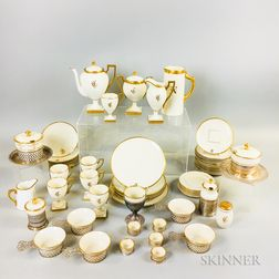 Group of Lenox and Belleek Willets Porcelain Tableware