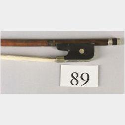 Nickel Mounted Violoncello Bow, Eugene Sartory