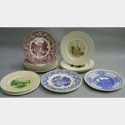Eighteen Wedgwood Collector's Plates
