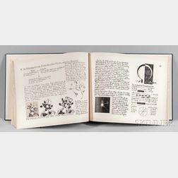 Johannes Itten (Swiss, 1888-1967)      Tagebuch Beitrage zu einem Kontrapunkt der bildenden Kunst