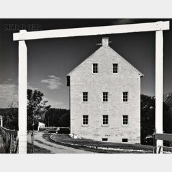 Ansel Adams (American, 1902-1984)      Pioneer Mill, Cimarron, New Mexico