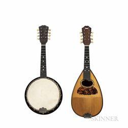 Bowl-back and Banjo Mandolins