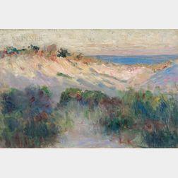 Robert Henri (American, 1865-1929)      Dunes, Atlantic City