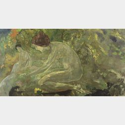 Arthur Bowen Davies (American, 1862-1928)  Day Dreams